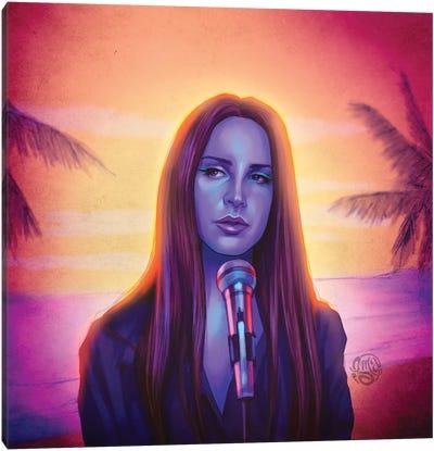 Lana del Rey - Fck It I Love It Canvas Art Print