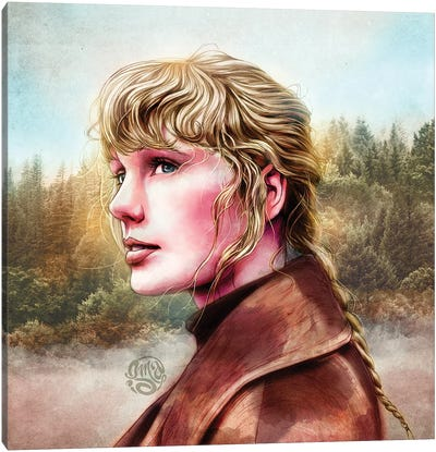 Taylor Swift - Evermore Canvas Art Print