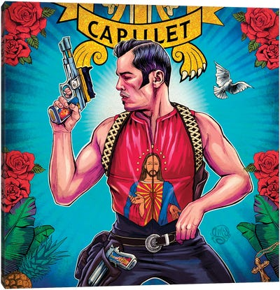 Tybalt Capuleto Canvas Art Print