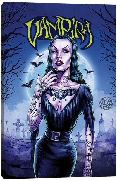 Vampira Canvas Art Print