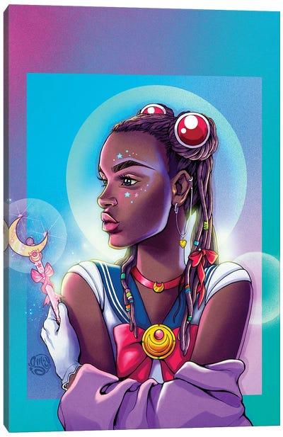 Black Sailor Canvas Art Print