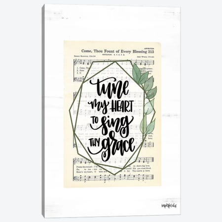Tune My Heart II Canvas Print #IMD128} by Imperfect Dust Canvas Art