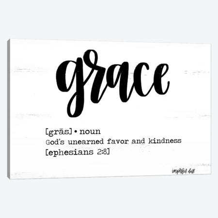 Grace Canvas Print #IMD135} by Imperfect Dust Canvas Wall Art