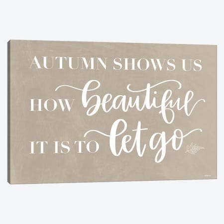 Let Go Canvas Print #IMD150} by Imperfect Dust Canvas Print
