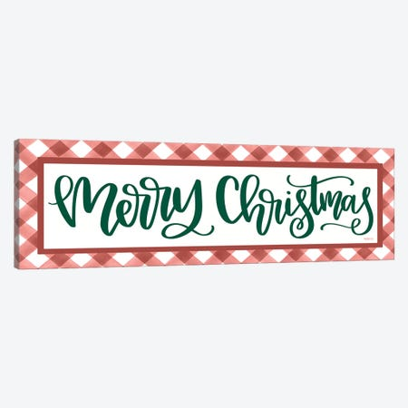 Merry Christmas Canvas Print #IMD151} by Imperfect Dust Canvas Print