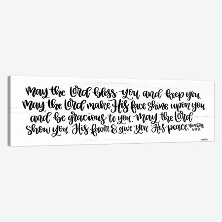 May the Lord Bless You and Keep You    Canvas Print #IMD172} by Imperfect Dust Canvas Print