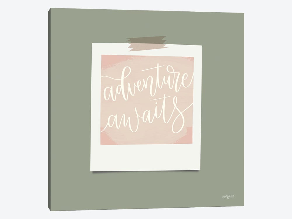 Adventure Awaits by Imperfect Dust 1-piece Canvas Art Print