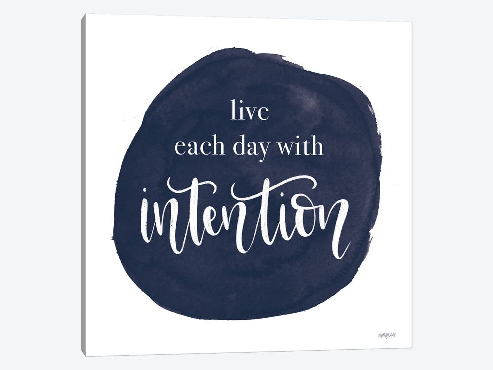 Intention by Imperfect Dust 1-piece Canvas Print