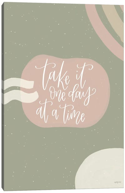One Day at a Time Canvas Art Print