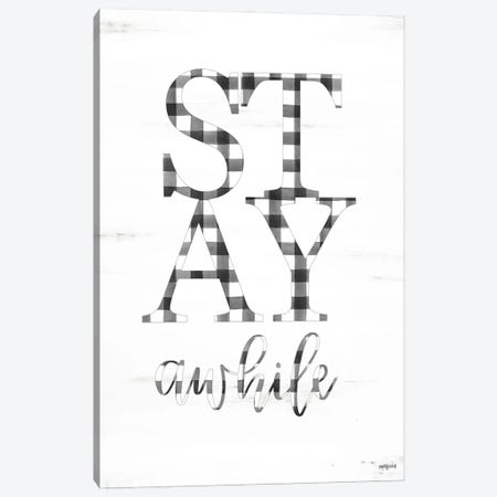 Stay Awhile Canvas Print #IMD188} by Imperfect Dust Canvas Art