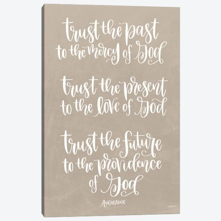 Trust Canvas Print #IMD189} by Imperfect Dust Canvas Artwork