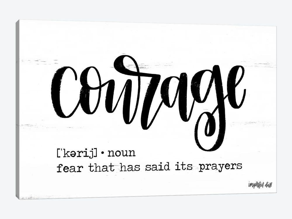 Courage by Imperfect Dust 1-piece Art Print