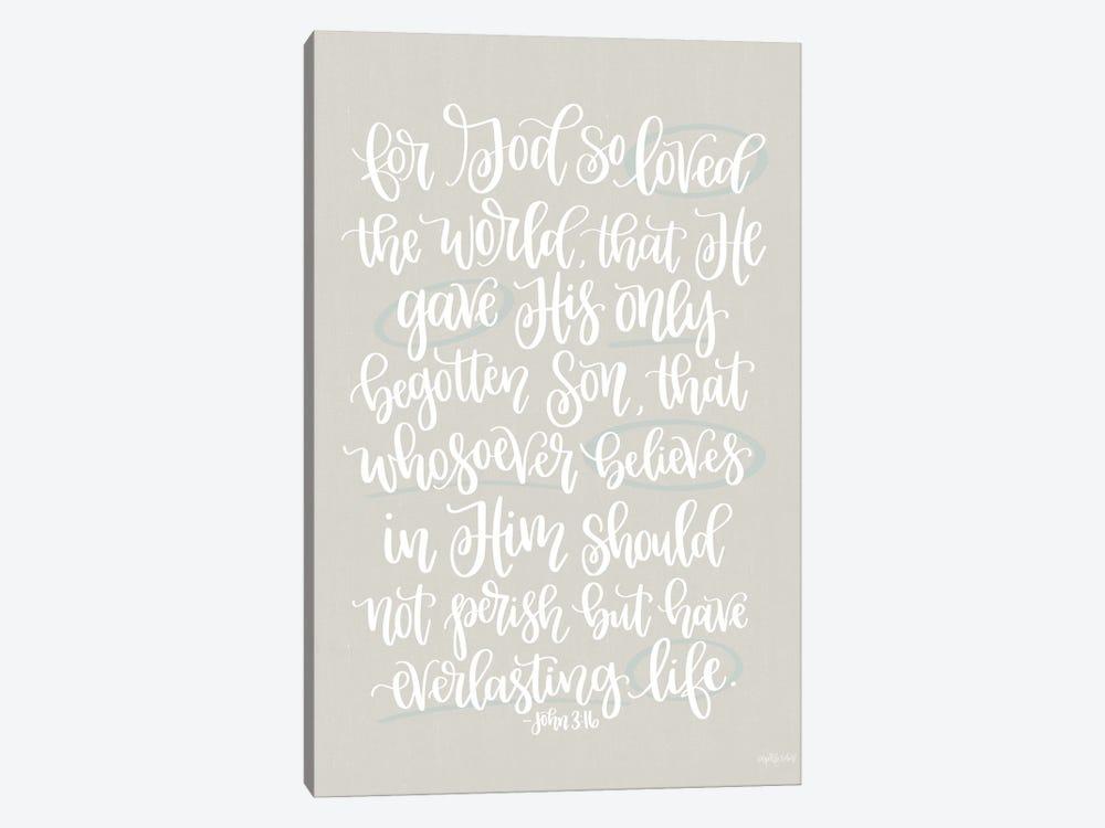 John 3:16 by Imperfect Dust 1-piece Art Print
