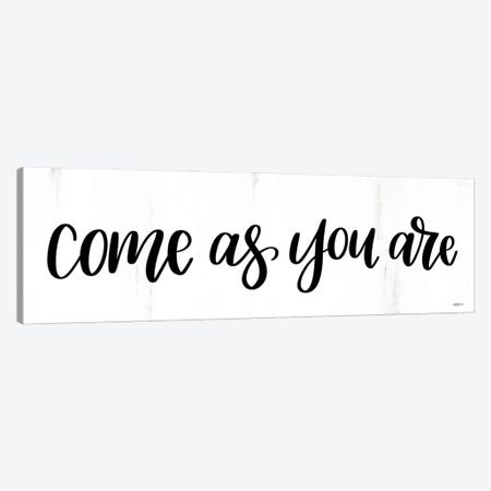 Come As You Are Canvas Print #IMD248} by Imperfect Dust Canvas Art Print