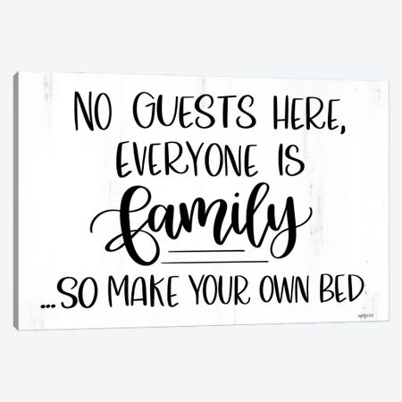 Everyone Is Family Canvas Print #IMD249} by Imperfect Dust Canvas Art Print
