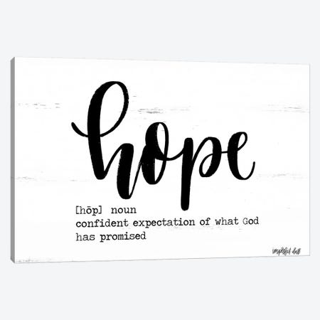 Hope Canvas Print #IMD25} by Imperfect Dust Canvas Art
