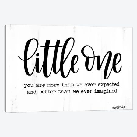 Little One Canvas Print #IMD27} by Imperfect Dust Canvas Art