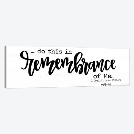 Remembrance Canvas Print #IMD32} by Imperfect Dust Canvas Art