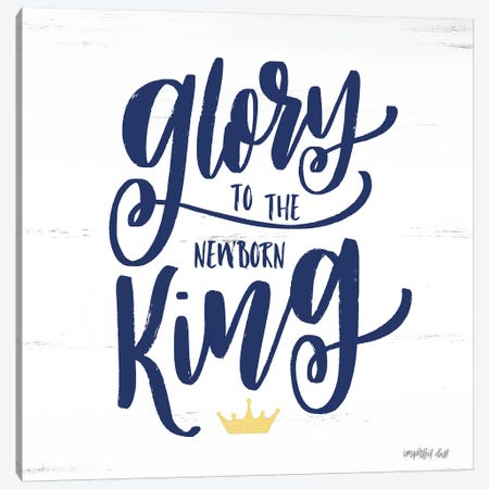 Newborn King Canvas Print #IMD40} by Imperfect Dust Canvas Print