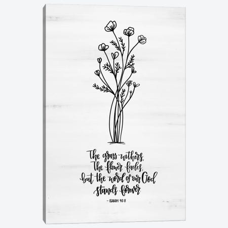 Word of Our God  Canvas Print #IMD46} by Imperfect Dust Canvas Artwork