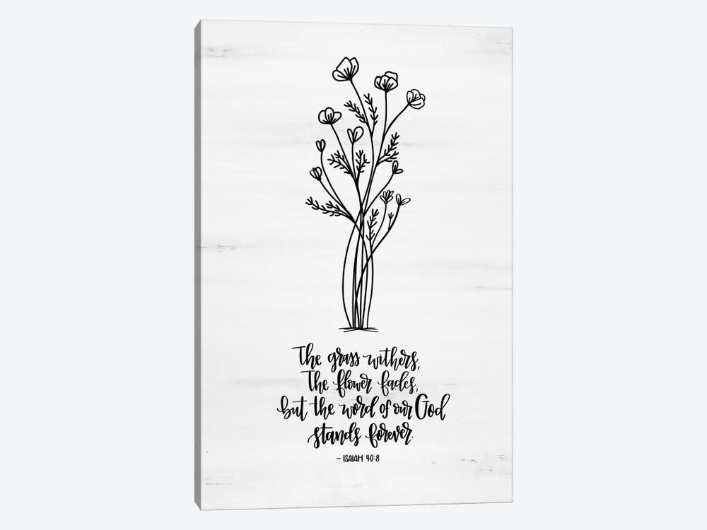 Word of Our God  by Imperfect Dust 1-piece Canvas Print