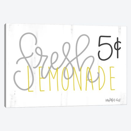Fresh Lemonade 3-Piece Canvas #IMD51} by Imperfect Dust Canvas Wall Art