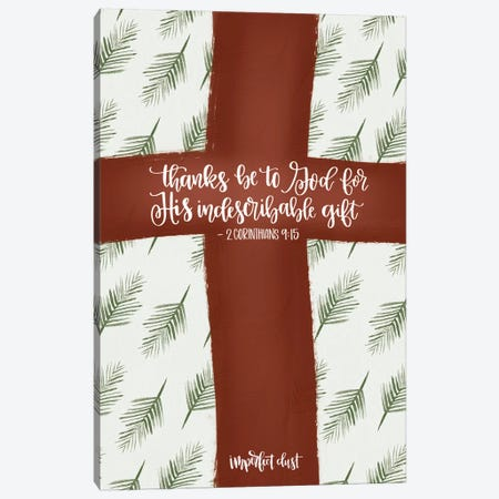 Indescribable Gift Canvas Print #IMD57} by Imperfect Dust Canvas Art Print