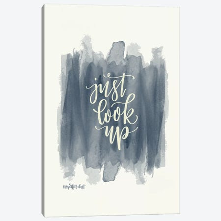 Just Look Up 3-Piece Canvas #IMD5} by Imperfect Dust Canvas Art Print