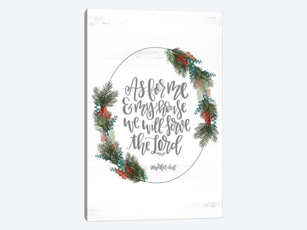 Joshua 24:15 by Imperfect Dust 1-piece Art Print