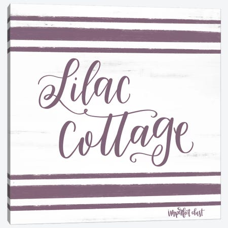 Lilac Cottage Canvas Print #IMD65} by Imperfect Dust Canvas Wall Art