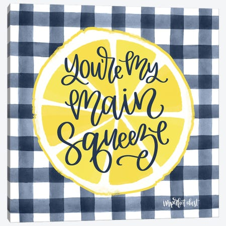 Main Squeeze Canvas Print #IMD66} by Imperfect Dust Canvas Artwork