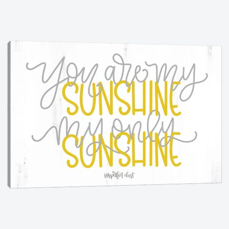 My Only Sunshine Canvas Print #IMD70} by Imperfect Dust Canvas Art