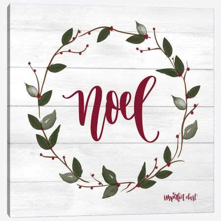 Noel Canvas Print #IMD71} by Imperfect Dust Canvas Artwork