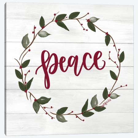 Peace Canvas Print #IMD74} by Imperfect Dust Art Print
