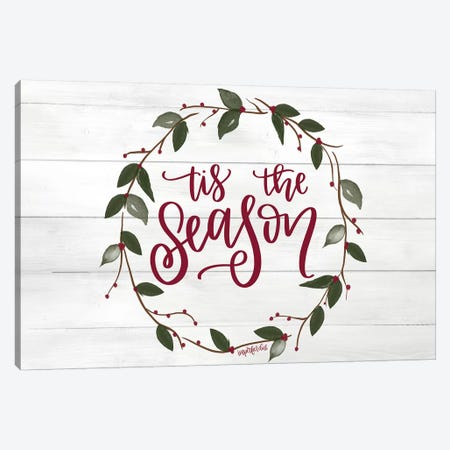 Tis the Season Canvas Print #IMD77} by Imperfect Dust Canvas Art Print