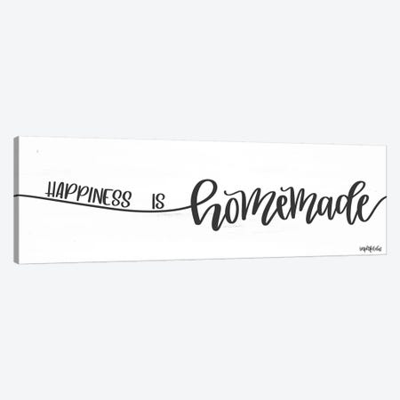 Happiness is Homemade Canvas Print #IMD94} by Imperfect Dust Art Print