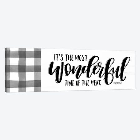 It's the Most Wonderful Time   Canvas Print #IMD97} by Imperfect Dust Canvas Print