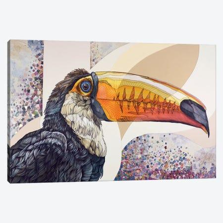 Toucan Canvas Print #IMN18} by Irene Meniconi Canvas Art