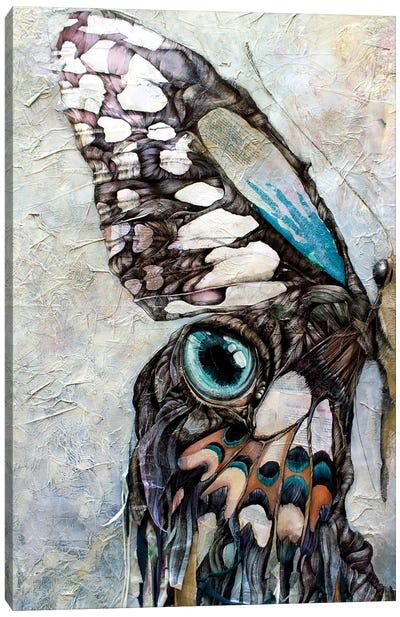 I Am The Half Butterfly Canvas Art Print