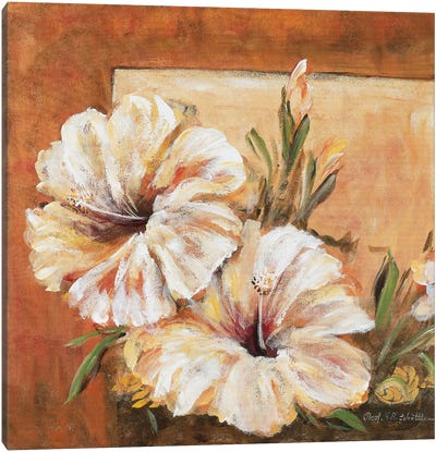Classic Flower L Canvas Art Print