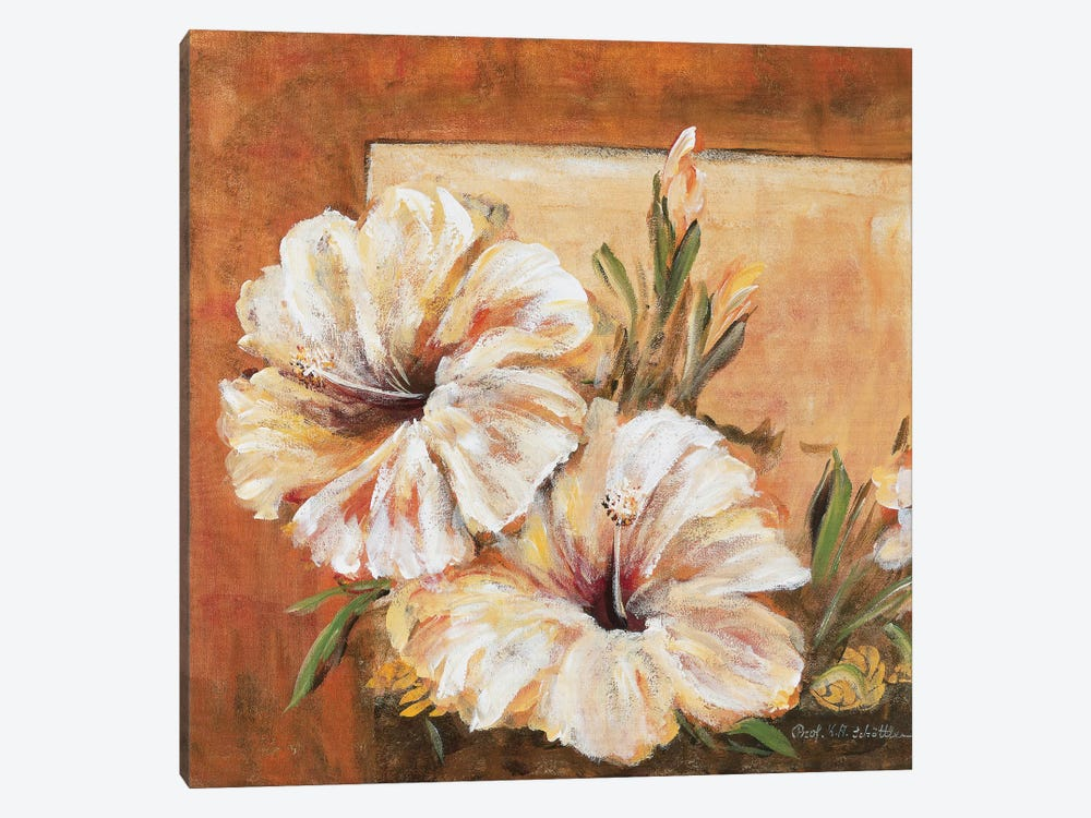 Classic Flower L by Katharina Schöttler 1-piece Canvas Art