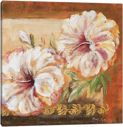 Classic Flower Ll Canvas Art Print