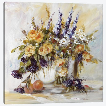 Classico Flowers I 3-Piece Canvas #INA14} by Katharina Schöttler Canvas Artwork