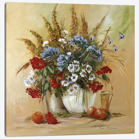 Classico Flowers II Canvas Print #INA15} by Katharina Schöttler Canvas Artwork