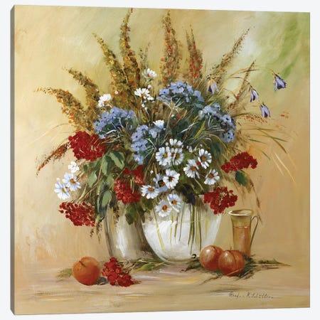 Classico Flowers II Canvas Print #INA15} by Katharina Schöttler Canvas Artwork