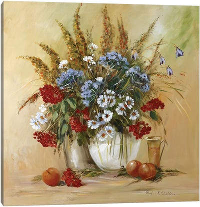 Classico Flowers II Canvas Art Print