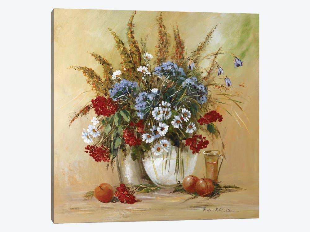 Classico Flowers II by Katharina Schöttler 1-piece Canvas Print