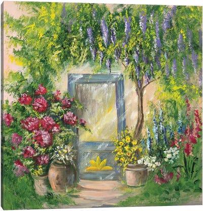 Entrada I Canvas Art Print