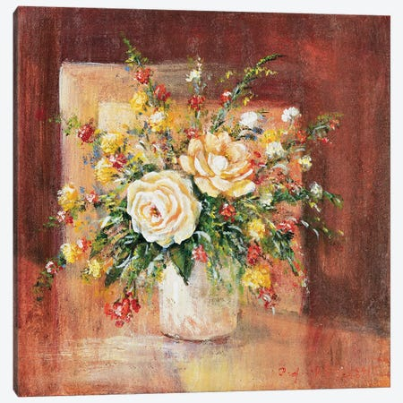 Flores Espanol Ll 3-Piece Canvas #INA20} by Katharina Schöttler Canvas Art
