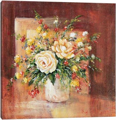 Flores Espanol Ll Canvas Art Print